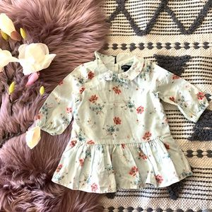 NWT Baby Gap▪️3-6 months Floral Dress.